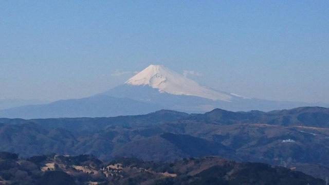 大室山から富士山の絶景