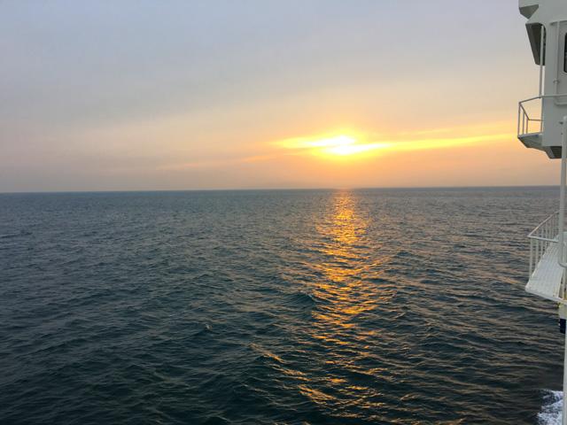 駿河湾のサンセット