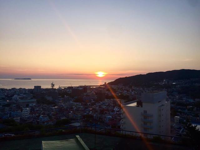 伊豆東海岸 相模湾からの日の出