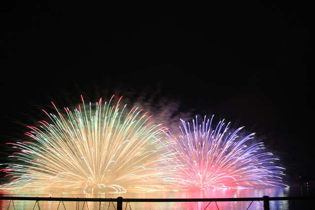 三ケ日の花火大会