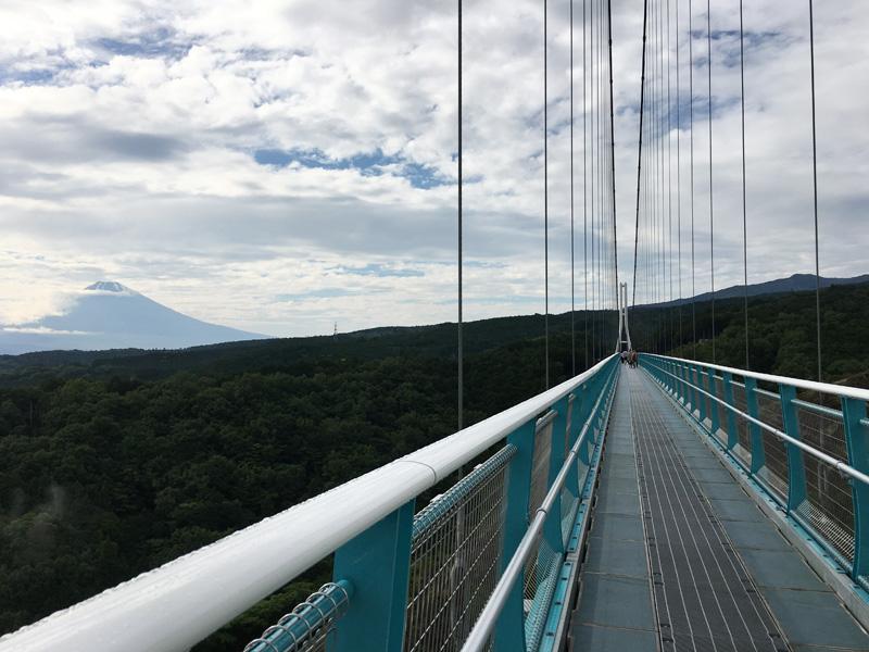 歩行者用として日本一の吊り橋