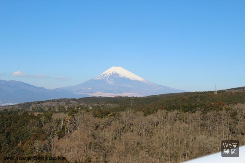 スカイウォークからの富士山