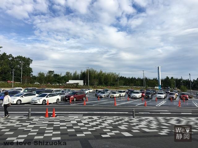 三島スカイウォークの駐車場