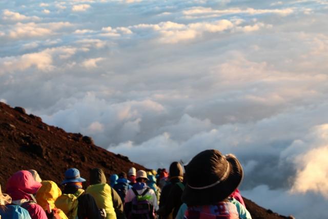 富士登山の注意