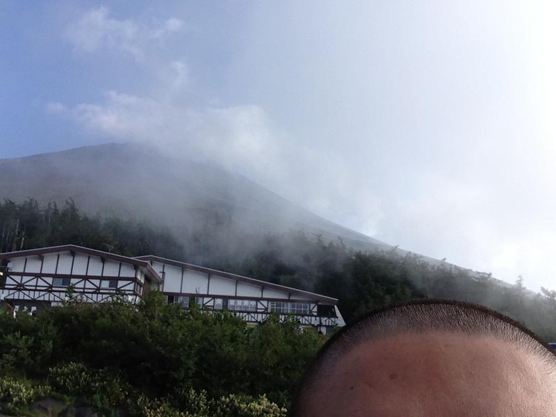 富士吉田口登山ルート 5合目