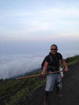 富士登山の格好