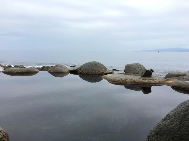 北川温泉:黒根岩風呂