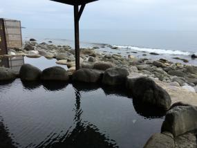 黒根岩風呂:混浴露天風呂と女性風呂