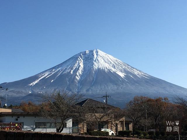 まかいの牧場からの富士山