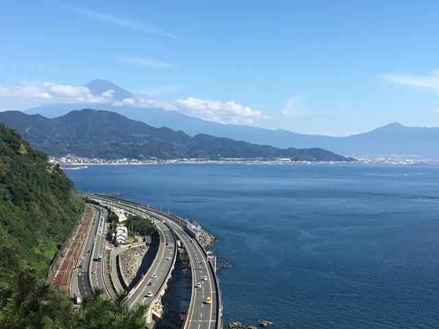 富士山が絶景の薩埵峠