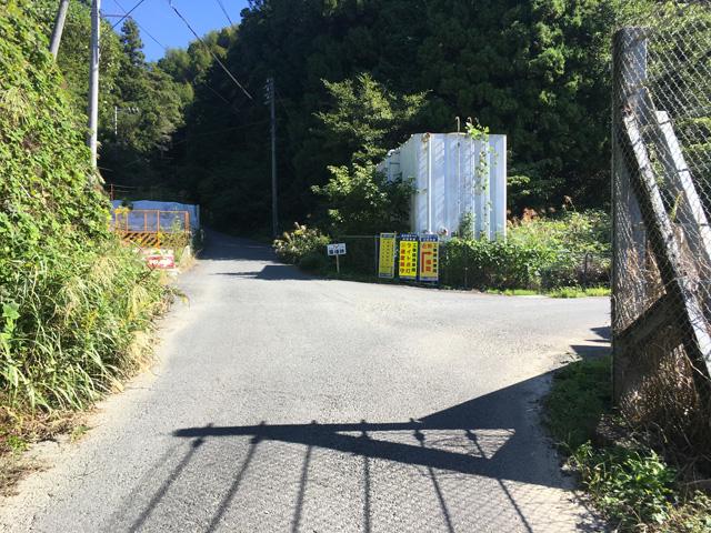 薩埵峠への道のり