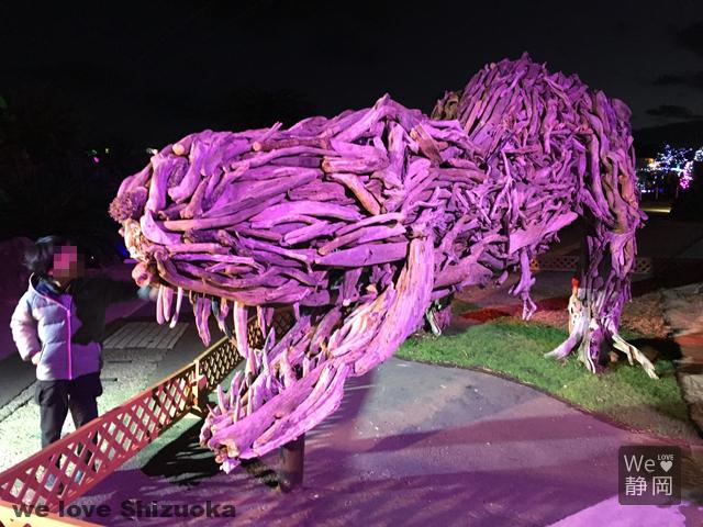 グランイルミ 恐竜イルミネーション