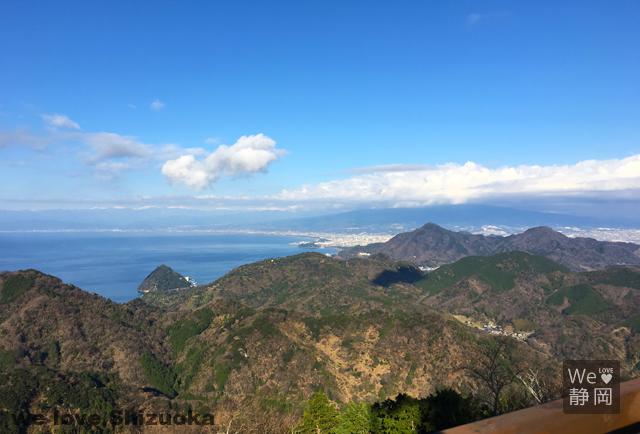 伊豆パノラマパークからの富士山