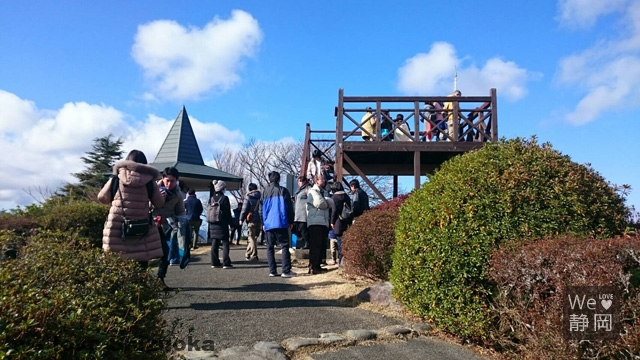 伊豆の国パノラマパーク 山頂展望台