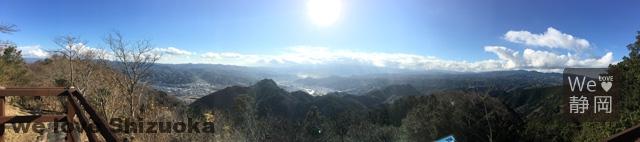 伊豆の国パノラマパーク 幸せの鐘からの眺望