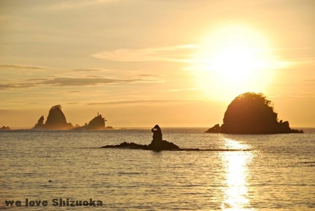 大田子海岸夕陽展望所