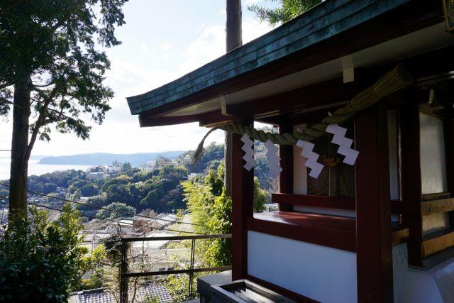 伊豆山 結明神社