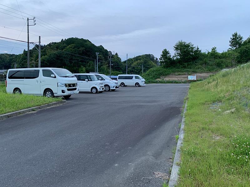大日ほたるの里:駐車場