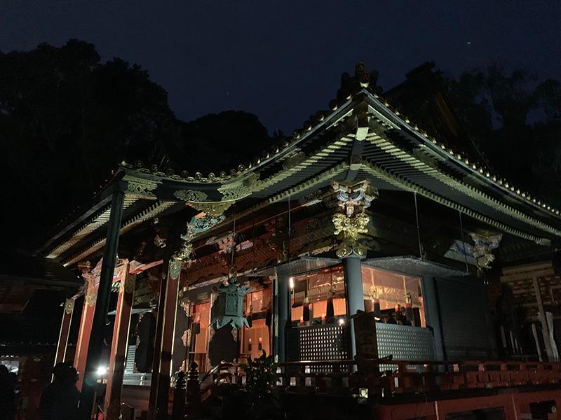 久能山東照宮:天下泰平の竹あかり