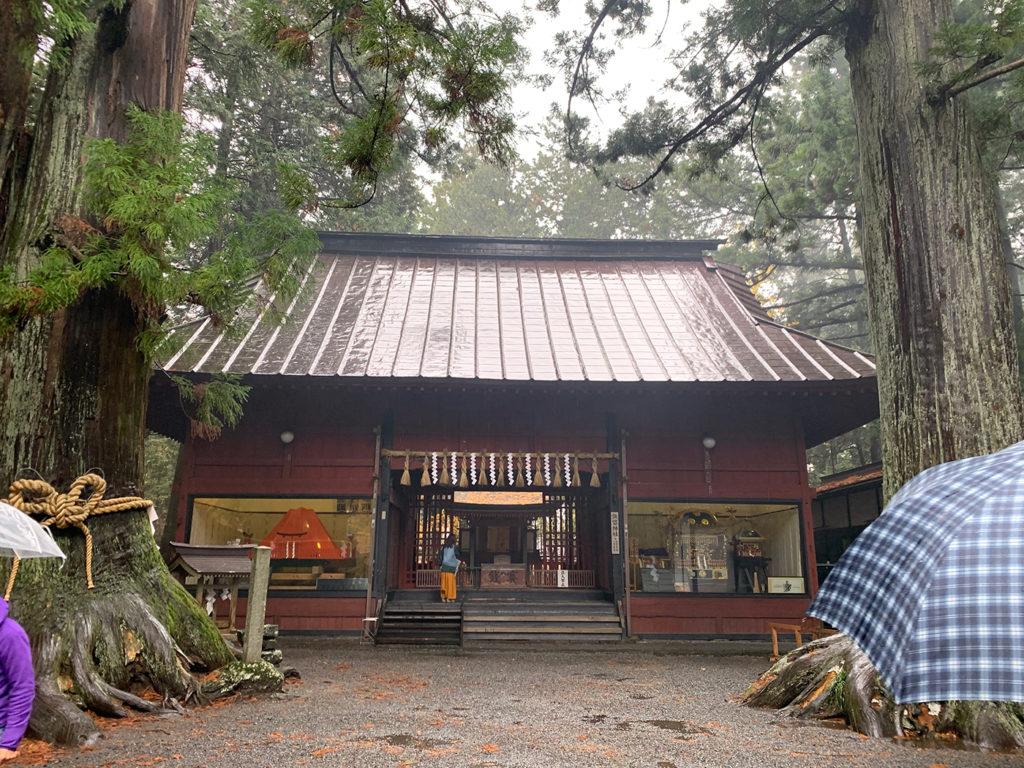 北口本宮冨士浅間神社:諏訪大社