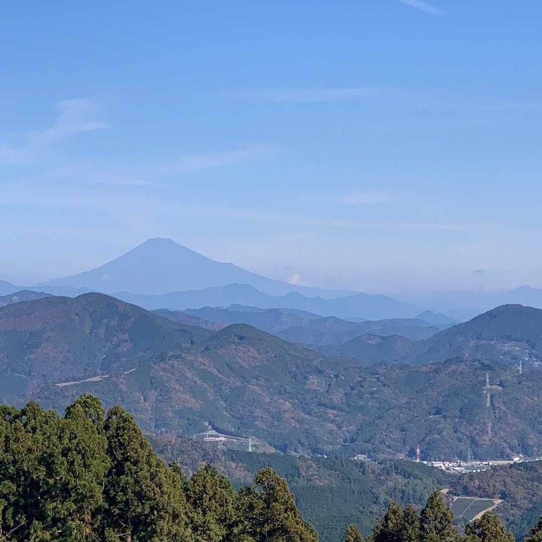 掛川かっぽしテラス・夢テラスからの富士山