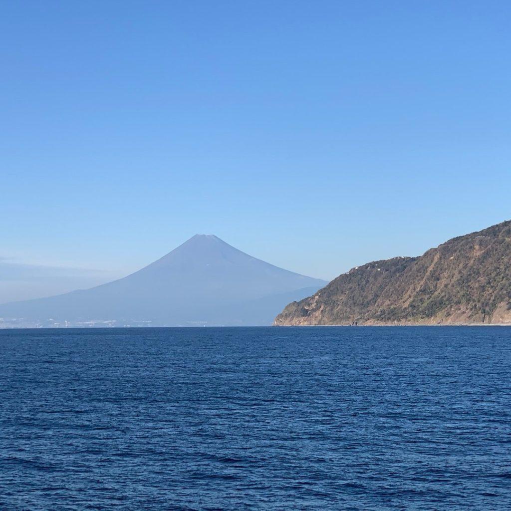 県道富士山・海の道から富士山♪