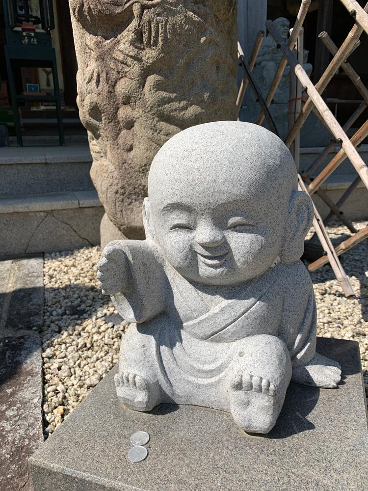 桔梗寺のお地蔵さん