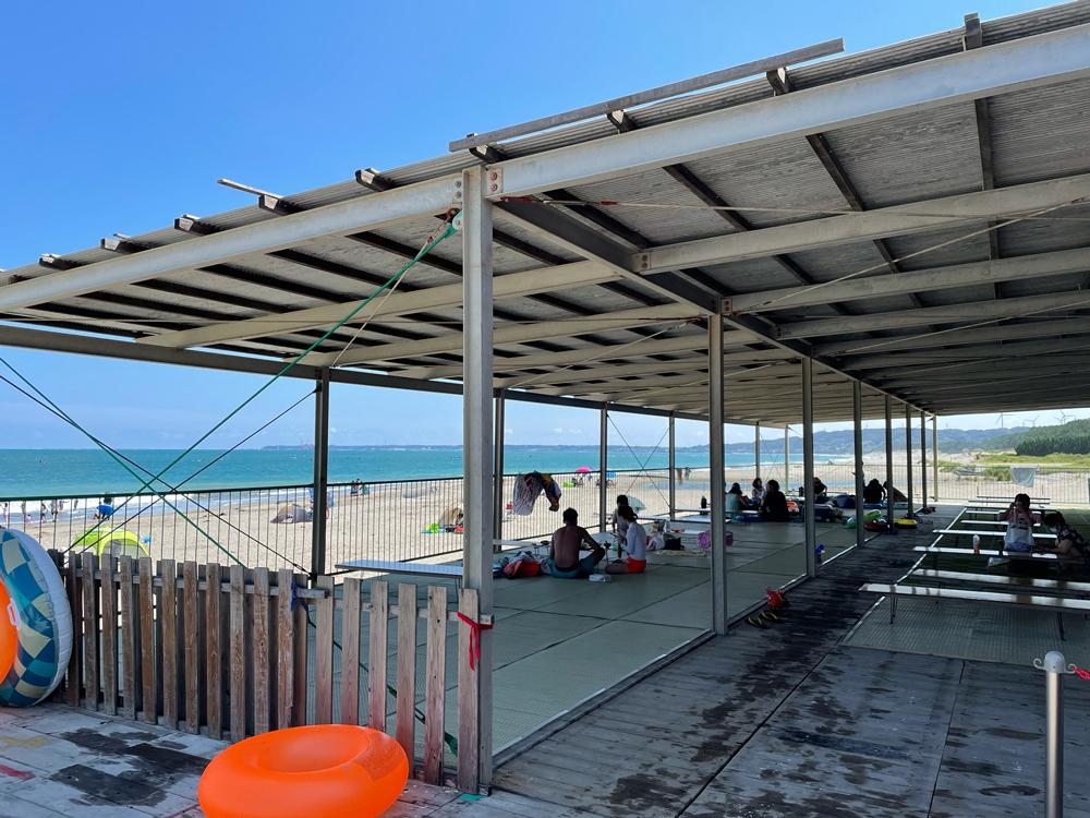 さがらサンビーチ海の家:有料席