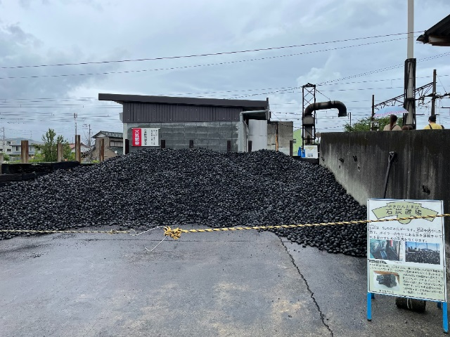 きかんしゃトーマスツアー:石炭置場