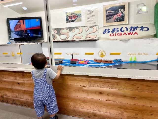 きかんしゃトーマスツアー:車両工場展示室