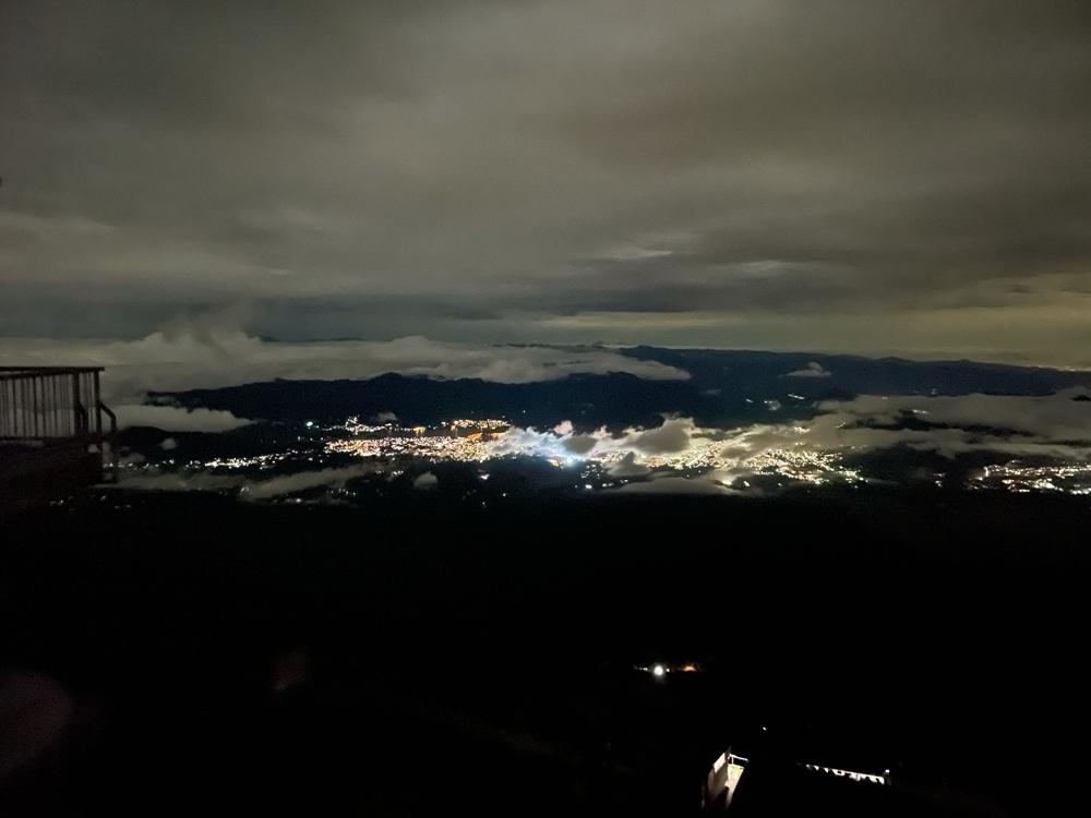 富士登山夜景
