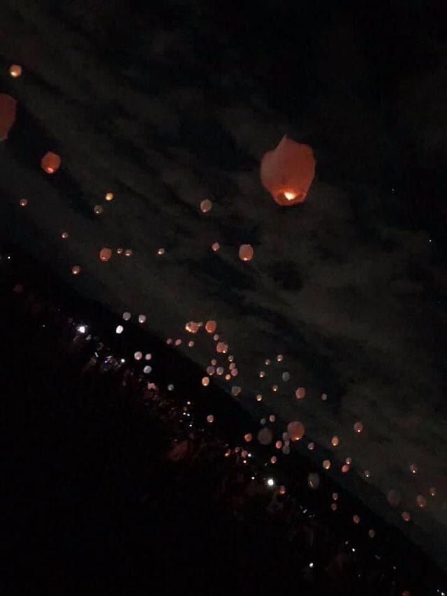 島田スカイランタン祭り